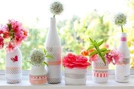 DIY sau cum puteti transforma borcanele de dulceata si muraturi in decoratiuni de nunta