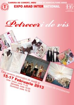 Expo Arad - Petreceri de Vis 2013 - Targ de nunta