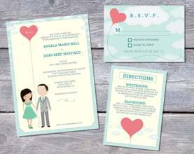 De ce nu ati face chiar voi invitatiile de nunta? Sugestii DIY creative si in tendinte