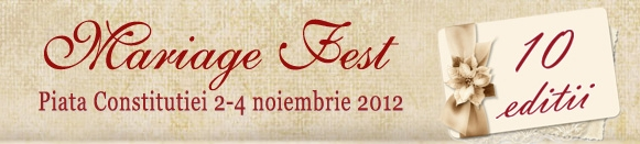 Targul de nunti Mariage Fest 2012 - Bucuresti