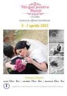 Targul pentru Nunti - Constanta, 5-7 aprilie 2013