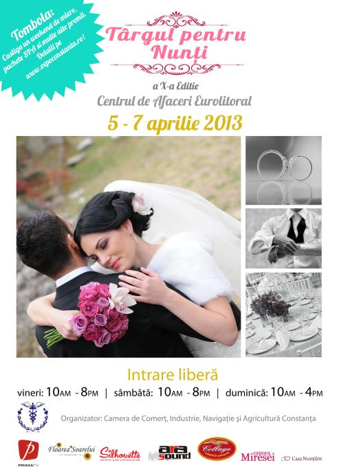 Targul pentru Nunti – Constanta – 5-7 aprilie 2013