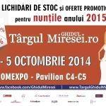 14 motive pentru a alege Targul de Nunti Ghidul Miresei, Octombrie 2014, Romexpo